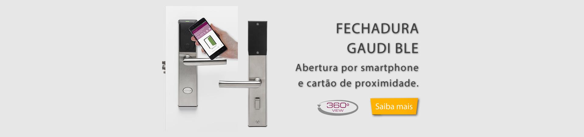 FECHADURA ELETRÔNICA GAUDI BLE