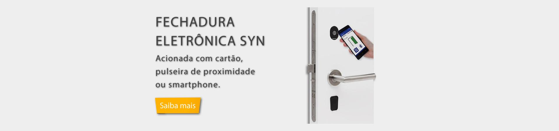 FECHADURA  ELETRÔNICA SYN